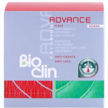 Bioclin Phydrium Advance ampulky proti padání vlasů pro ženy 2
