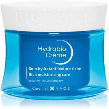 Bioderma Hydrabio Crème produs hrănitor pentru ten uscat sensibil si foarte uscat poza noua