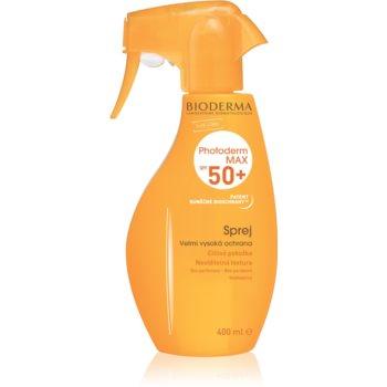 Bioderma Photoderm Max spray autobronzant fara parfum SPF 50+