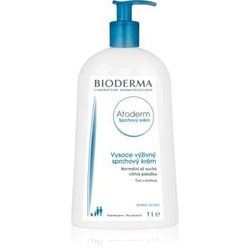 Bioderma Atoderm Sprchový Krém výživný sprchový krém pro normální až suchou citlivou pokožku 1000 ml