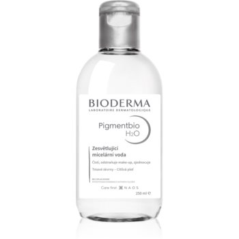 Bioderma Pigmentbio H2O apă micelară pentru curățare blânda impotriva petelor intunecate