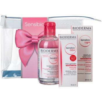 Bioderma Sensibio H2O set cosmetice II. (pentru piele si ochi sensibili)