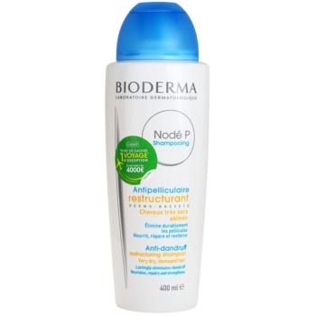 Fotografie Bioderma Nodé P šampon proti lupům pro suché a poškozené vlasy 400 ml