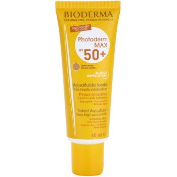 Bioderma Photoderm Max тонуючий флюїд для засмаги SPF 50+