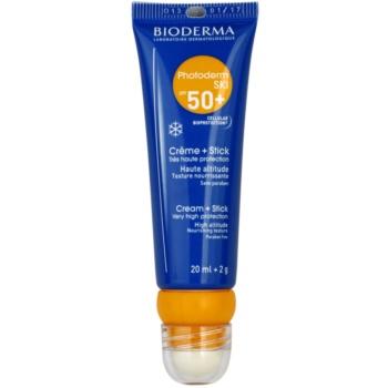 Bioderma Photoderm Ski crema pentru bronzat SPF 50+  20 ml