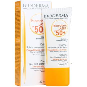 Bioderma Photoderm Laser krema za sončenje proti pigmentnim madežem SPF 50+ 1