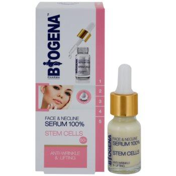 Biogena Face&Neckline Serum 50+ Lifting-Serum gegen Falten mit Kollagen 1