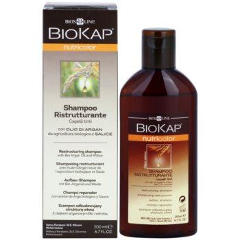 Biokap Nutricolor szampon odbudowujący włosy do włosów farbowanych 1