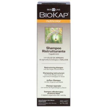 Biokap Nutricolor szampon odbudowujący włosy do włosów farbowanych 2