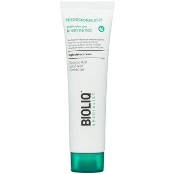 Bioliq Specialist Imperfections crema de noapte detoxifianta cu efect de hidratare