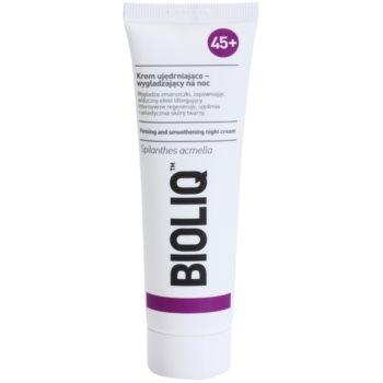 Bioliq 45+ crema de noapte pentru netezire si fermitate pentru finisarea contururilor