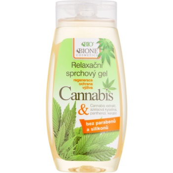 Bione Cosmetics Cannabis gel de dus reconfortant  260 ml