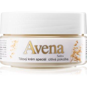 Bione Cosmetics Avena Sativa crema de corp pentru piele sensibila