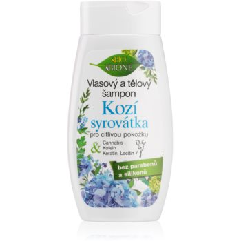 Bione Cosmetics Kozí Syrovátka gel de du? ?i ?ampon pentru piele sensibila imagine produs