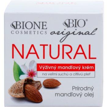 Bione Cosmetics Almonds ekstra hranilna krema za zelo suho in občutljivo kožo 2