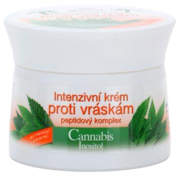 Bione Cosmetics Cannabis інтенсивний крем проти зморшок