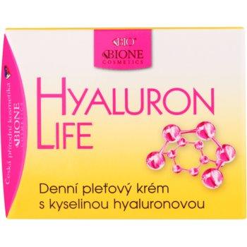 Bione Cosmetics Hyaluron Life дневен крем за лице с хиалуронова киселина 2