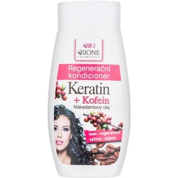 Bione Cosmetics Keratin Kofein balsam regenerator pentru păr poza noua