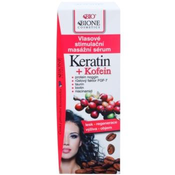Bione Cosmetics Keratin Kofein ser pentru intarirea si cresterea parului 2