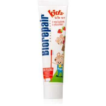 Biorepair Junior Zahnpasta für Kinder mit Erdbeergeschmack 50 ml