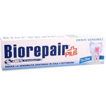 Biorepair Plus Sensitive pasta za obnovitev zobne sklenine za občutljive zobe 2