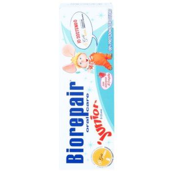 Biorepair Junior pasta do zębów dla dzieci o smaku truskawki 2