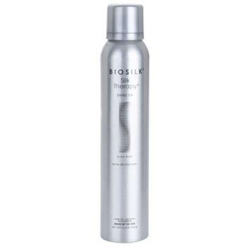 Biosilk Biosilk SilkTherapy Shine On spray styling para cabelo brilhante e macio