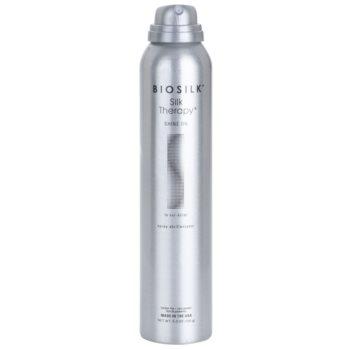 Biosilk Biosilk SilkTherapy Shine On spray styling para cabelo brilhante e macio 1