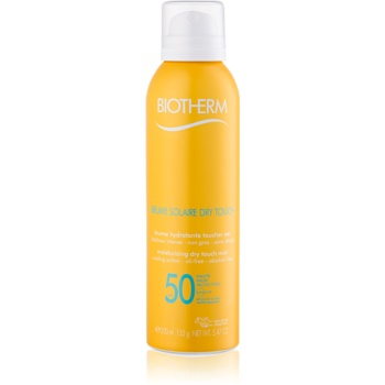 Biotherm Brume Solaire Dry Touch lotiune hidratanta pentru plaja cu efect mat SPF 50