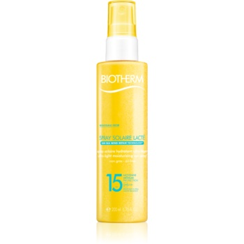 Biotherm Spray Solaire Lacté spray autobronzant hidratant SPF 15