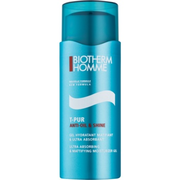 Biotherm Homme T-Pur Anti Oil & Shine gel hidratant matifiant