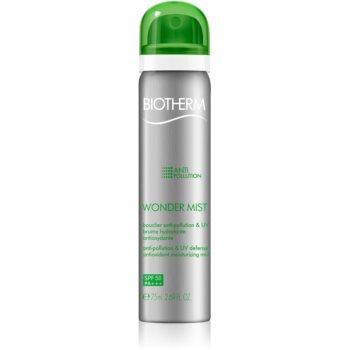 biotherm skin oxygen wonder mist spray antionxidant hidratant spf50
