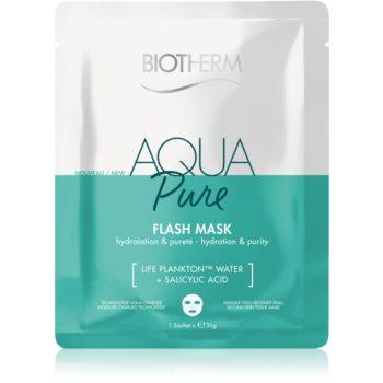 Biotherm Aqua Pure Super Concentrate plátýnková maska s hydratačním účinkem pro regeneraci pleti 35