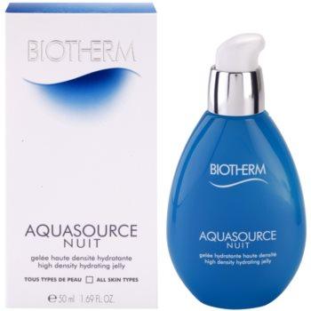 Biotherm Aquasource Nuit emulsie hidratanta pentru toate tipurile de ten 2