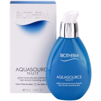 Biotherm Aquasource Nuit emulsie hidratanta pentru toate tipurile de ten 3