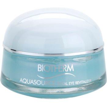 Biotherm Aquasource Total Eye Revitalizer tratament pentru ochi umflati  cu efect racoritor  15 ml