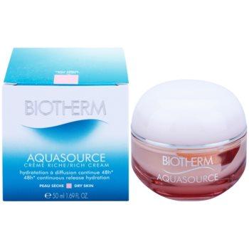 Biotherm Aquasource nährende und feuchtigkeitsspendende Creme für trockene Haut 3