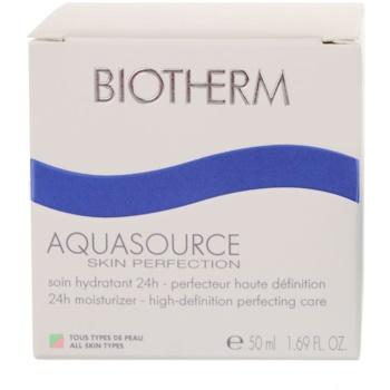 Biotherm Aquasource дневен хидратиращ крем  за всички типове кожа на лицето 2