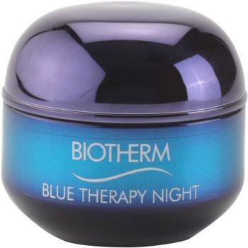 Biotherm Blue Therapy crema de noapte pentru contur pentru toate tipurile de ten