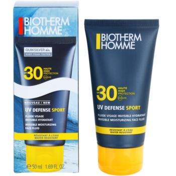 Biotherm Homme UV Defense Sport флюїд для засмаги для шкіри обличчя SPF 30 1