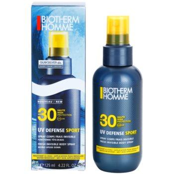 Biotherm Homme UV Defense Sport спрей для засмаги SPF 30 1