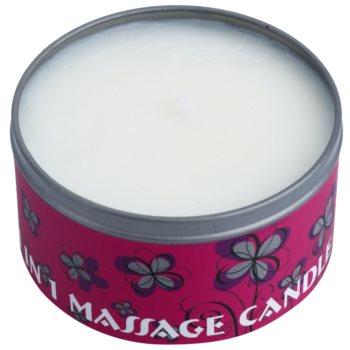 BK Beauty Body Spa Amber Vanilla świeca do masażu 4 v 1 1