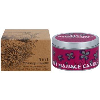 BK Beauty Body Spa Amber Vanilla świeca do masażu 4 v 1 2