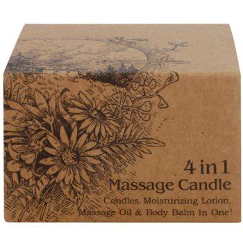 BK Beauty Body Spa Amber Vanilla świeca do masażu 4 v 1 3
