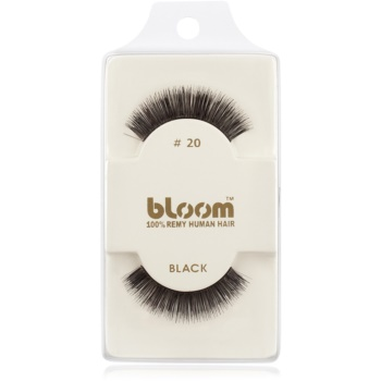 Bloom Natural gene false din par natural No. 20 (Black) 1 cm