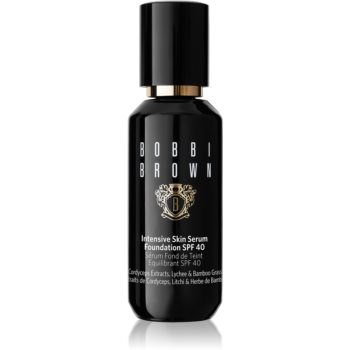 Bobbi Brown Intensive Skin Serum Foundation fond de ten lichid iluminator SPF 40 poza noua