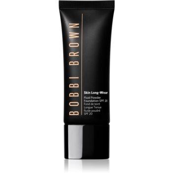 Bobbi Brown Skin Long Wear Fluid Powder Foundation machiaj lichid cu un finisaj mat SPF 20 poza