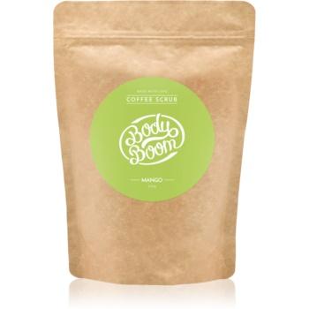 BodyBoom Mango exfoliant de corp, cu cafea