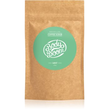 BodyBoom Mint exfoliant de corp, cu cafea