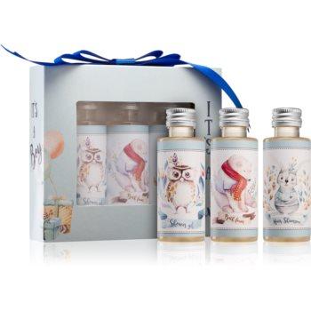 Bohemia Gifts & Cosmetics Its A Boy set cadou (pentru nou-nascuti si copii) pentru copii